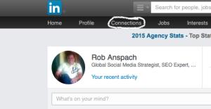 LinkedIn CSV Step 1
