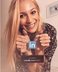 LinkedIn Award Gal