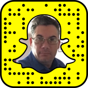 Scan my snap code to follow me on SnapChat. Username: robanspach