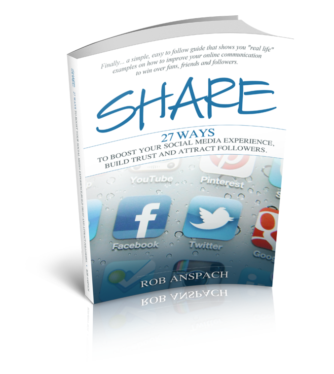 SHARE 27 Ways Social Media Book