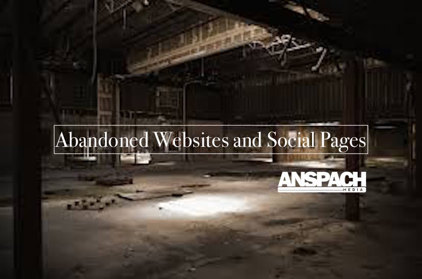 Avoid Outdated and Abandoned Websites and Social Pages