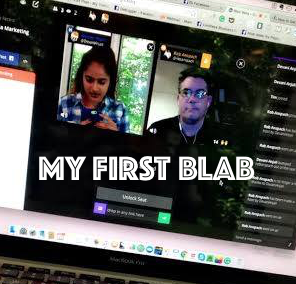 My First Blab