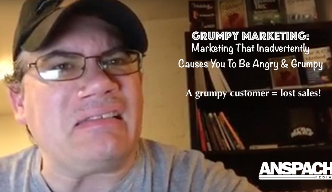 Grumpy Marketing