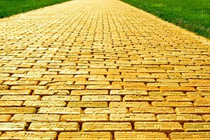 The Path Paved In Gold