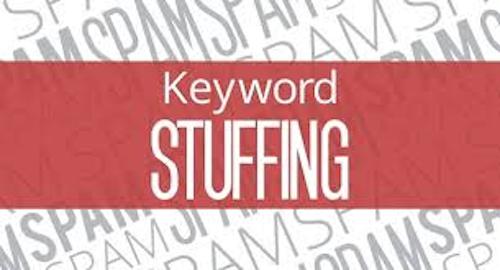 Website Keyword Stuffing