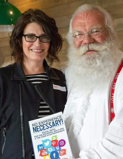 Lorri With Santa Claus