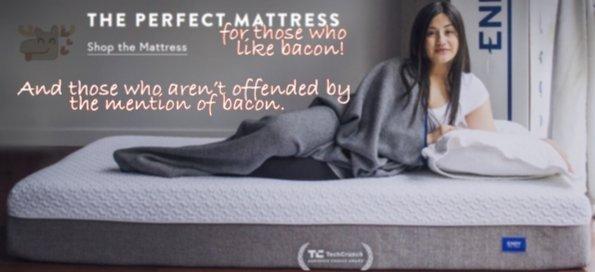 Vegans Losing Sleep Over This Mattress Ad