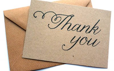Increasing Referrals With Thank You Cards