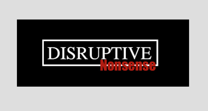 Disruptive Nonsense