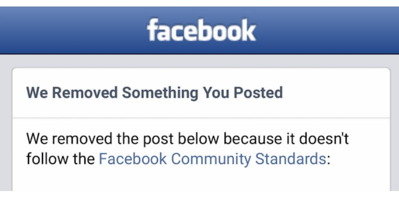 Facebook Community Standard Screeners