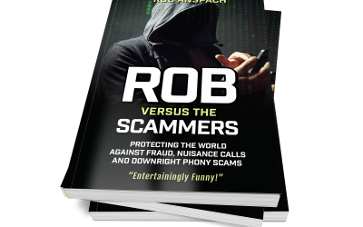 Rob Versus The Scammers Book