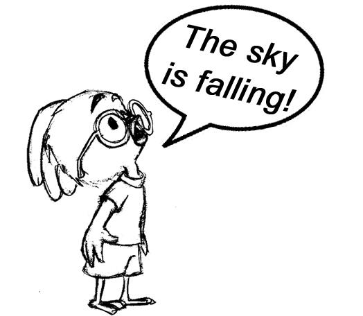 Mister Sky Is Falling