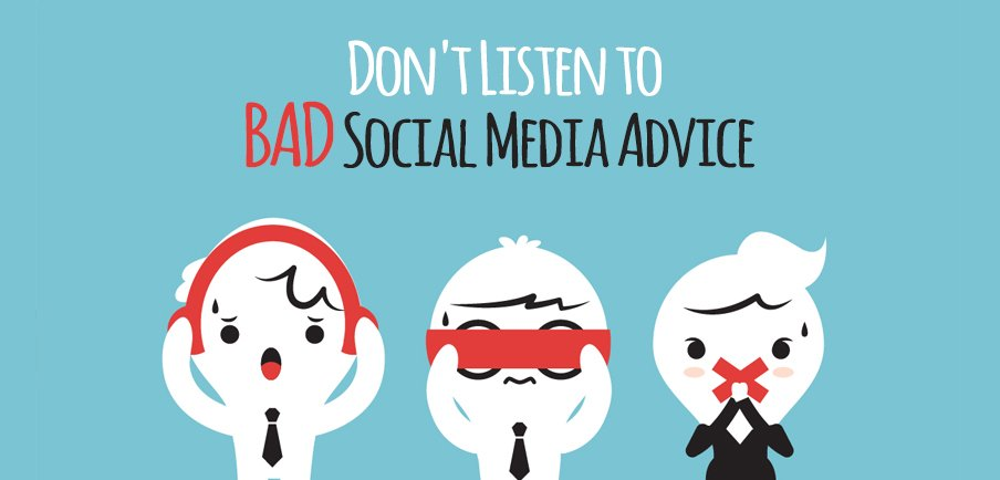 How To Tank Your Social Media…Listen To The Wrong People