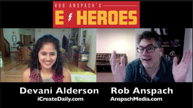 E-Heroes Ep 45 – I Create Daily