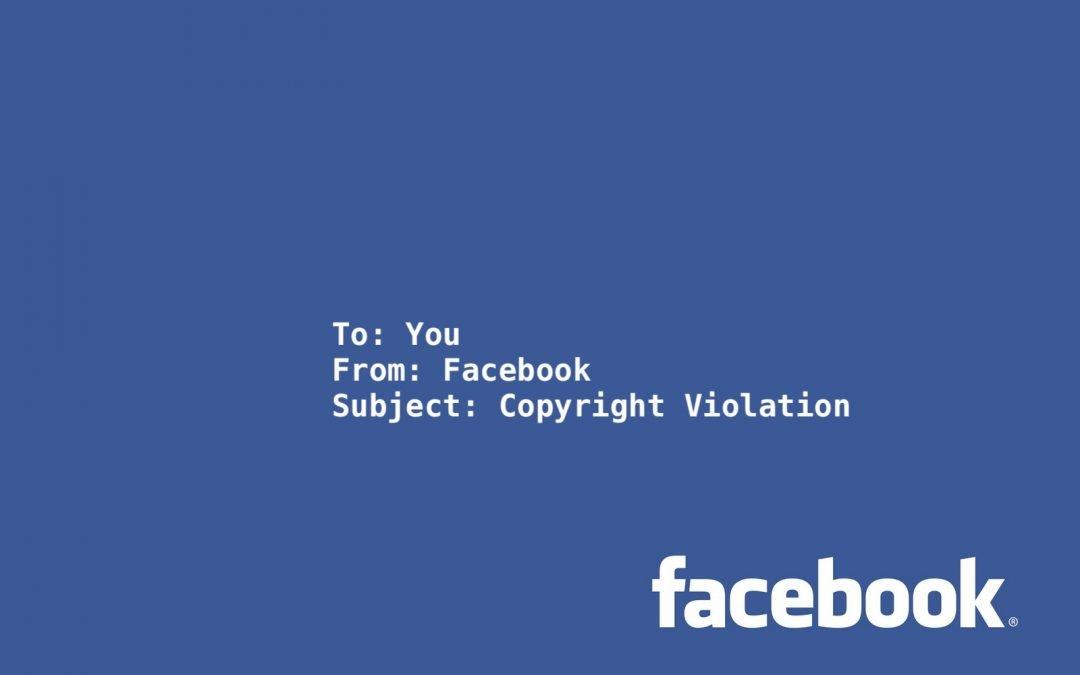 Facebook Email Scam