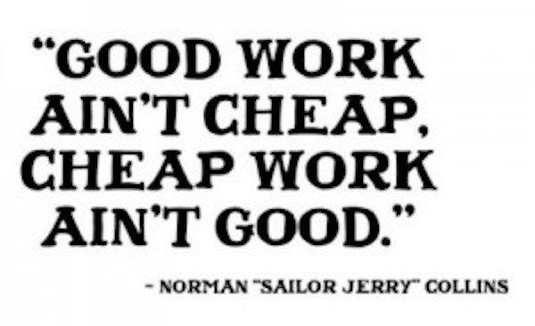 Choosing Between A Great Team Or A Cheap Service