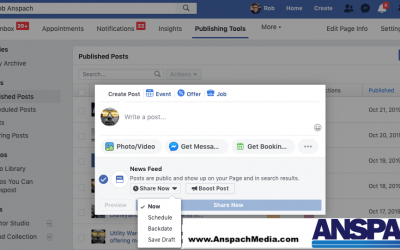 I Can't Schedule Posts On Facebook, Now What?