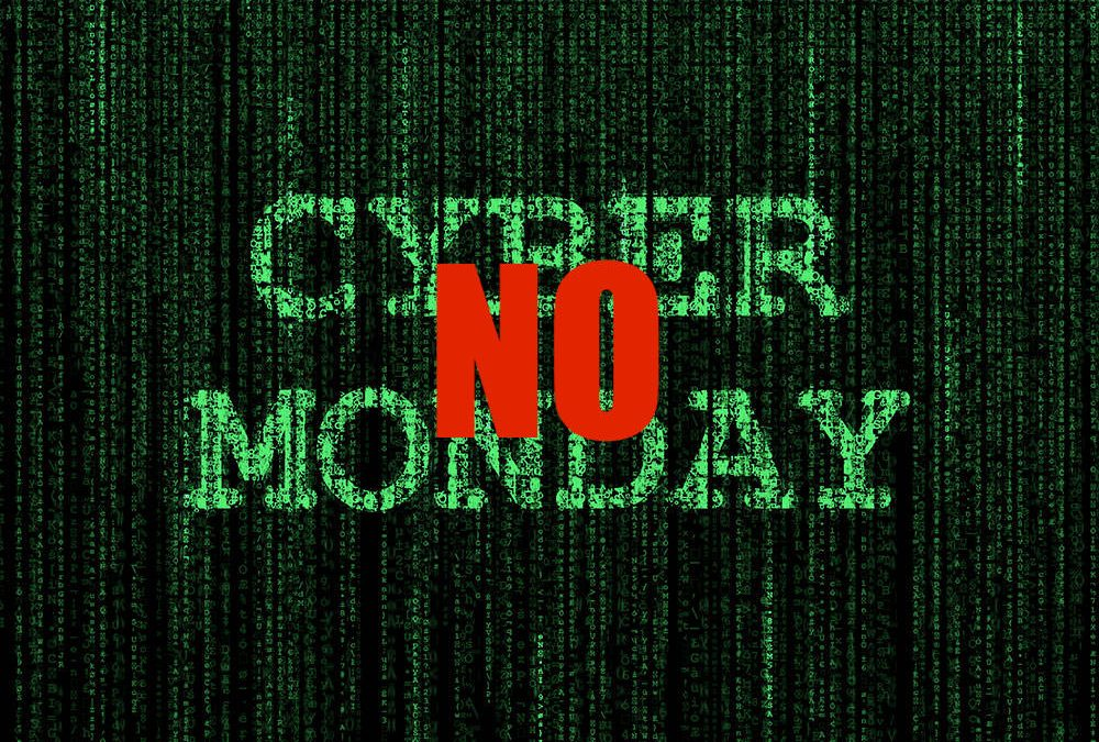 Say No To Cyber Monday Sales