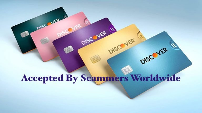 Discover Card Scammers