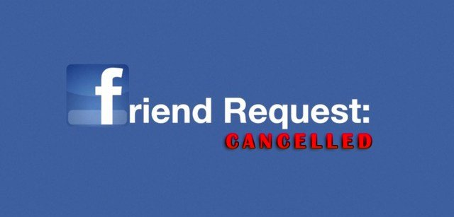 You Don't Have To Accept All Friend Requests