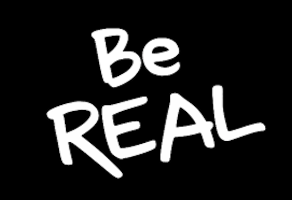 Trust Begins By Being Real