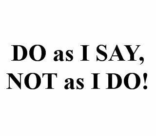Gurus and Social Media: Do As I Say Not As I Do