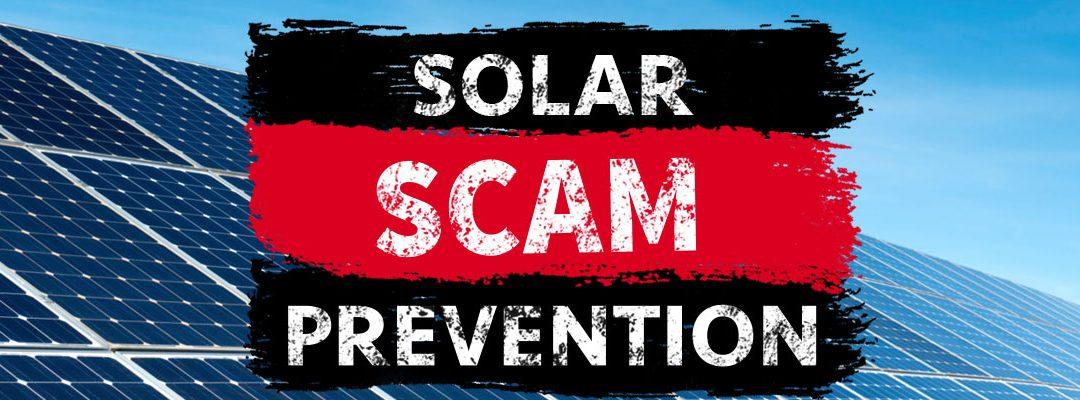 Solar Scam